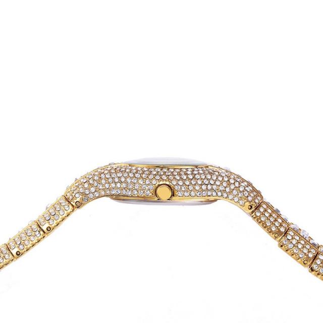 Luxury Pure Rhinestone Crystal Small Dial Watch