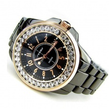 Women's Luxury Crystal Steel Watch