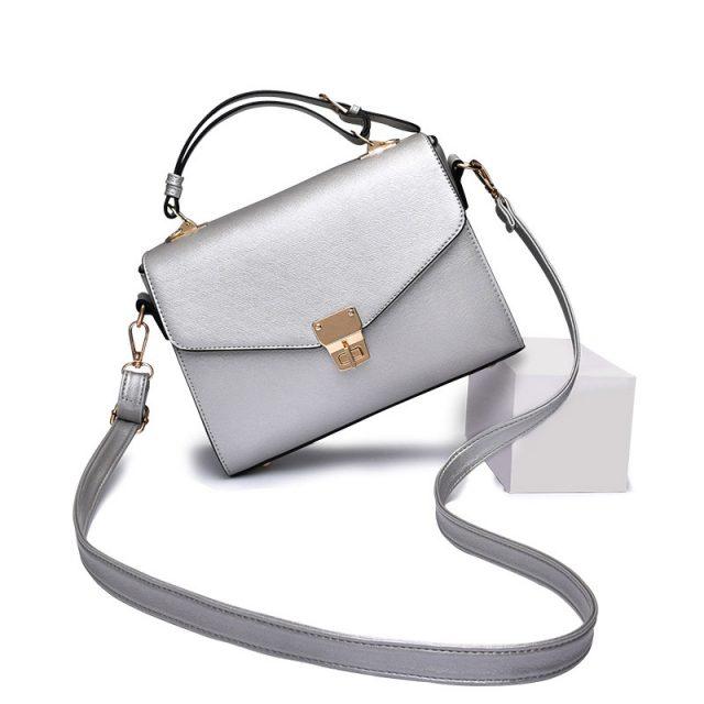 Women's Silver Mini Crossbody Bags