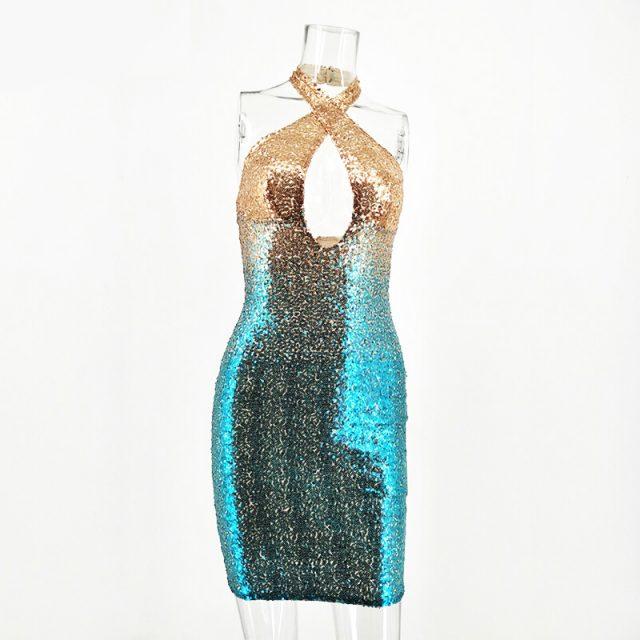 Summer Sequins Club Dress